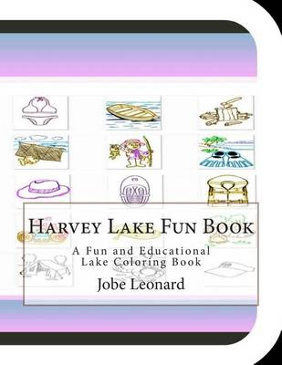 Harvey Lake Fun Book
