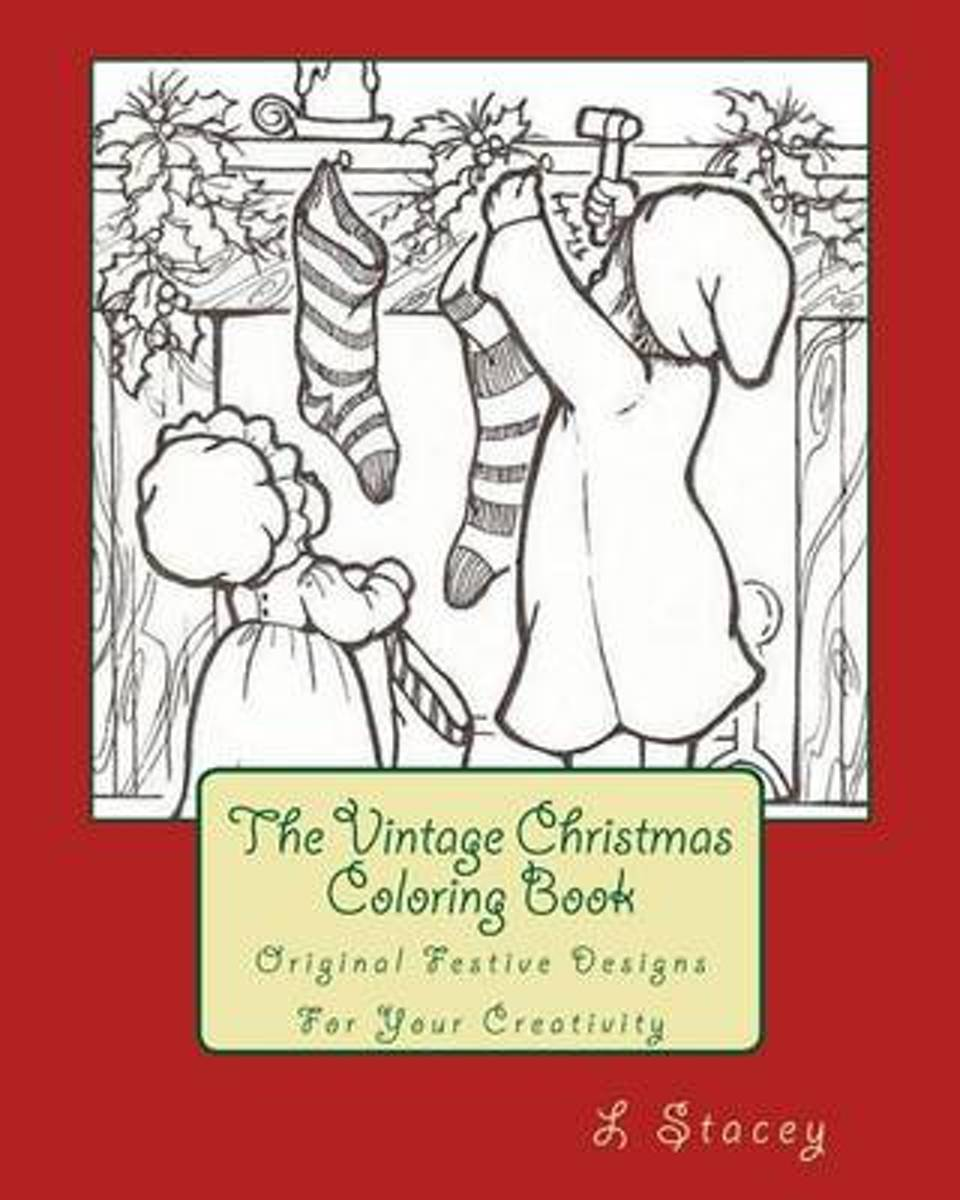 The Vintage Christmas Coloring Book