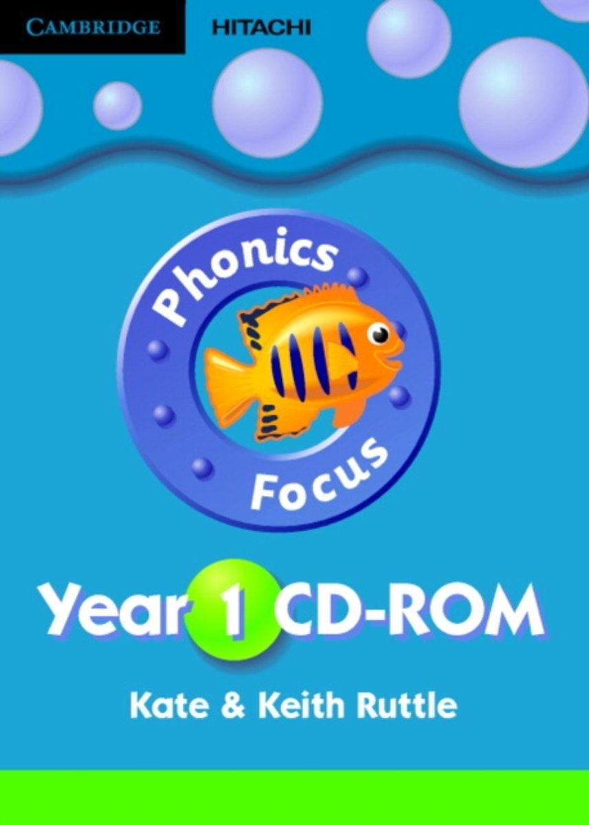 Phonics Focus Year 1 CD-ROM