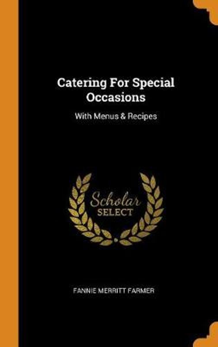 Catering for Special Occasions