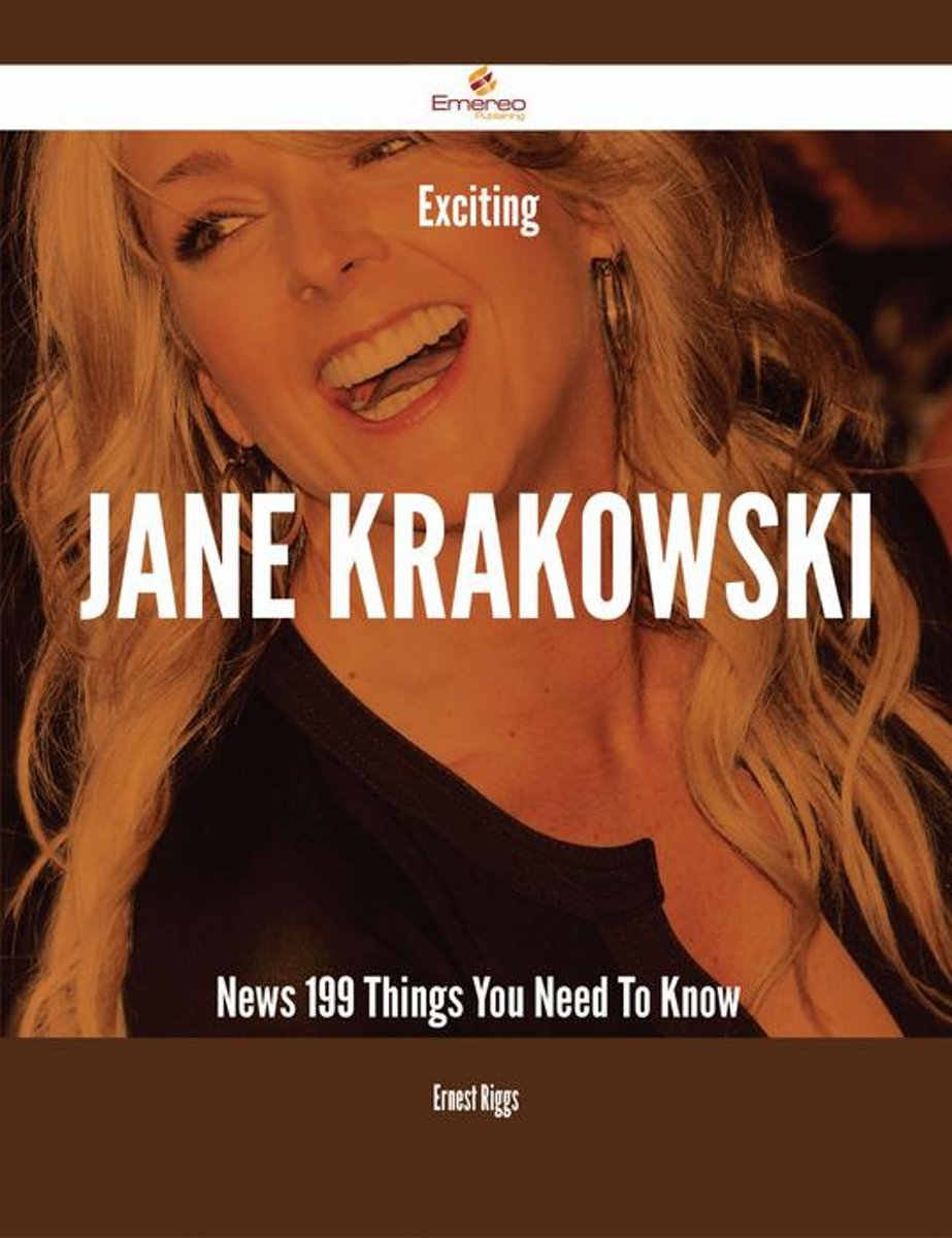 Exciting Jane Krakowski News - 199 Things You Need To Know