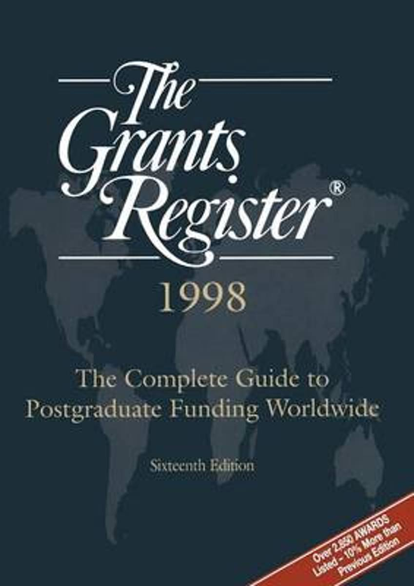 The Grants Register (R) 1998