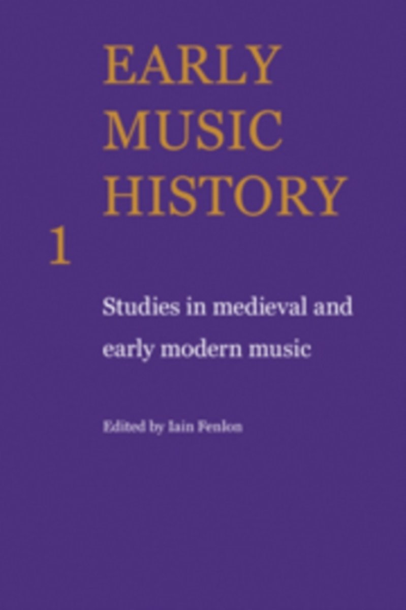 Early Music History