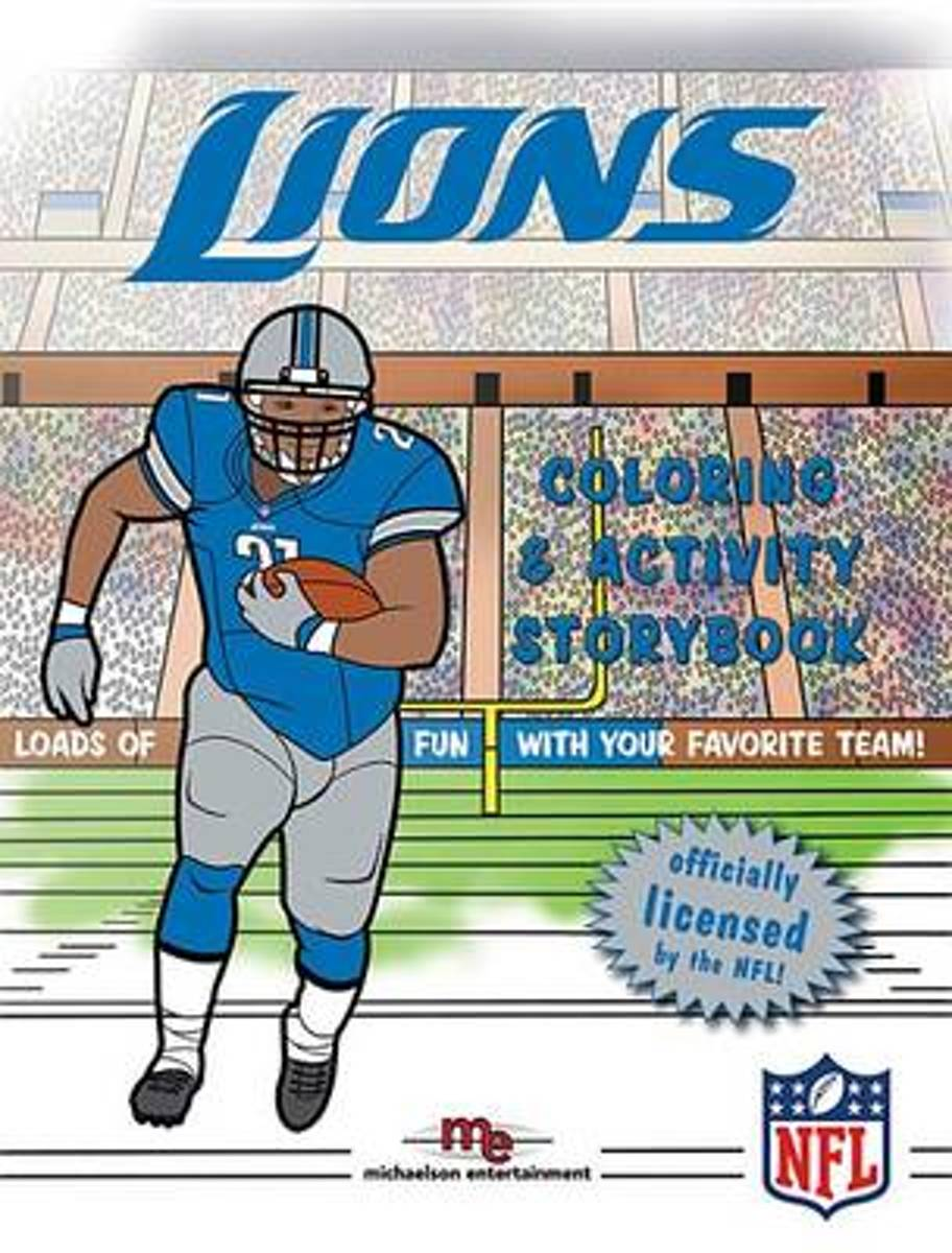 Detroit Lions Coloring & Activity Storybook