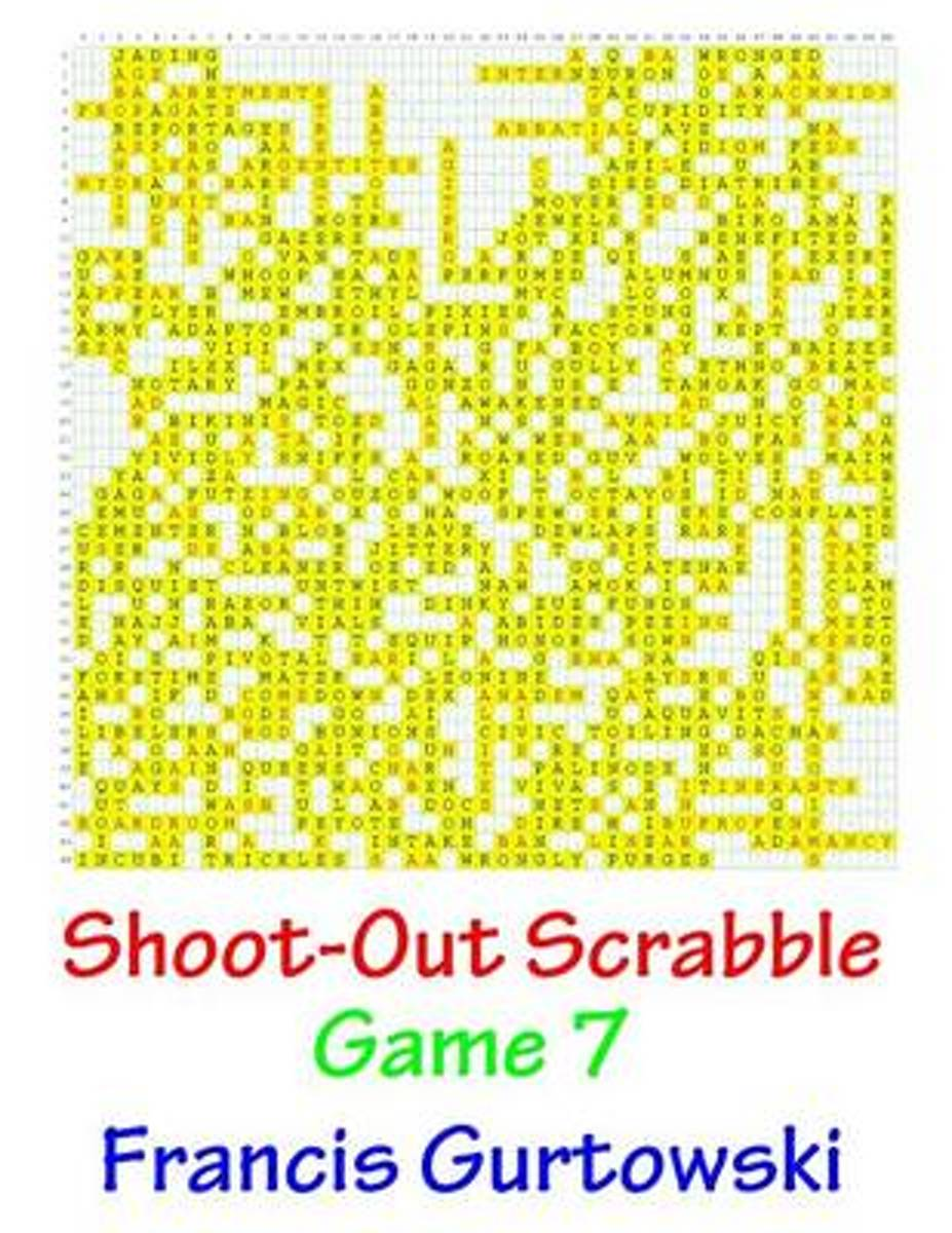 Shoot-Out Scrabble Game 7
