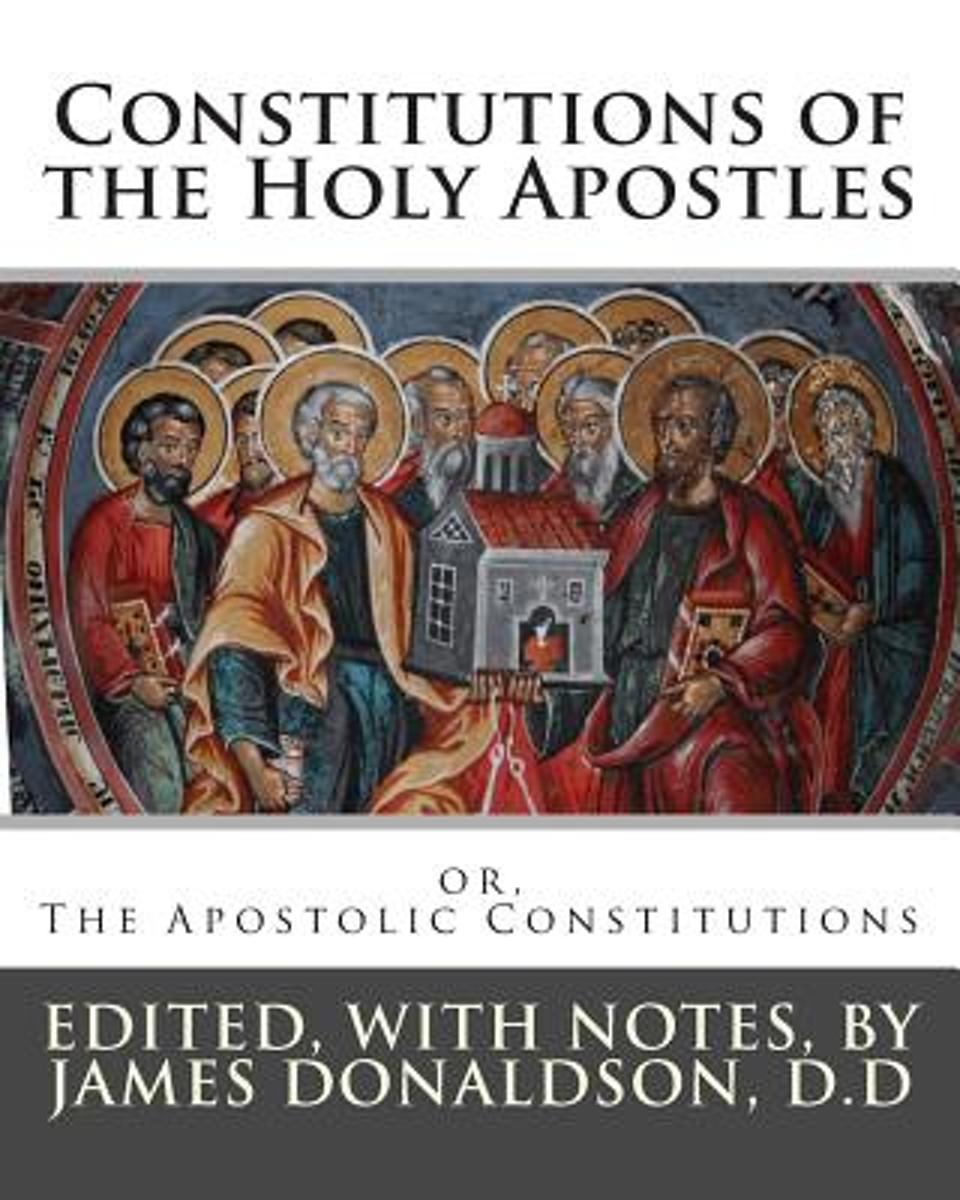 Constitutions of the Holy Apostles