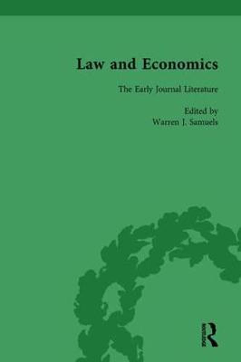 Law and Economics Vol 1