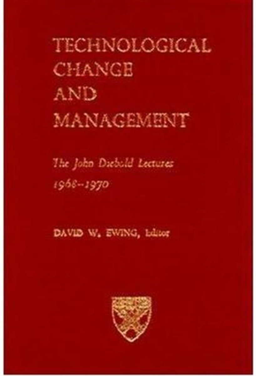 Technological Change and Management