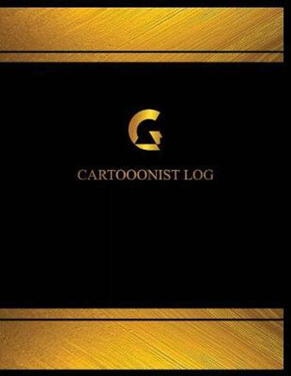Cartoonist Log (Log Book, Journal - 125 Pgs, 8.5 X 11 Inches)