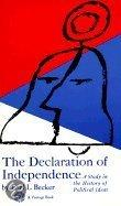 Declaration of Independence: A Study in the History of Political Ideas