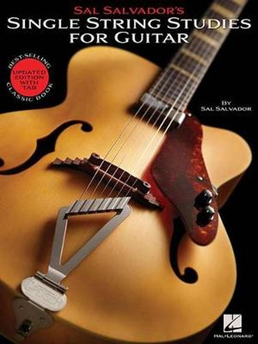 Sal Salvador's Single String Studies for Guitar