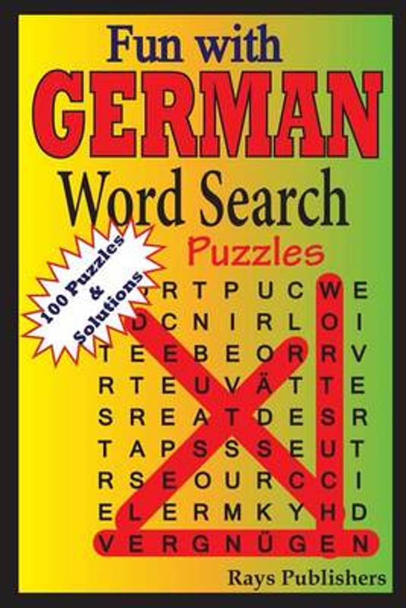Fun with German - Word Search Puzzles