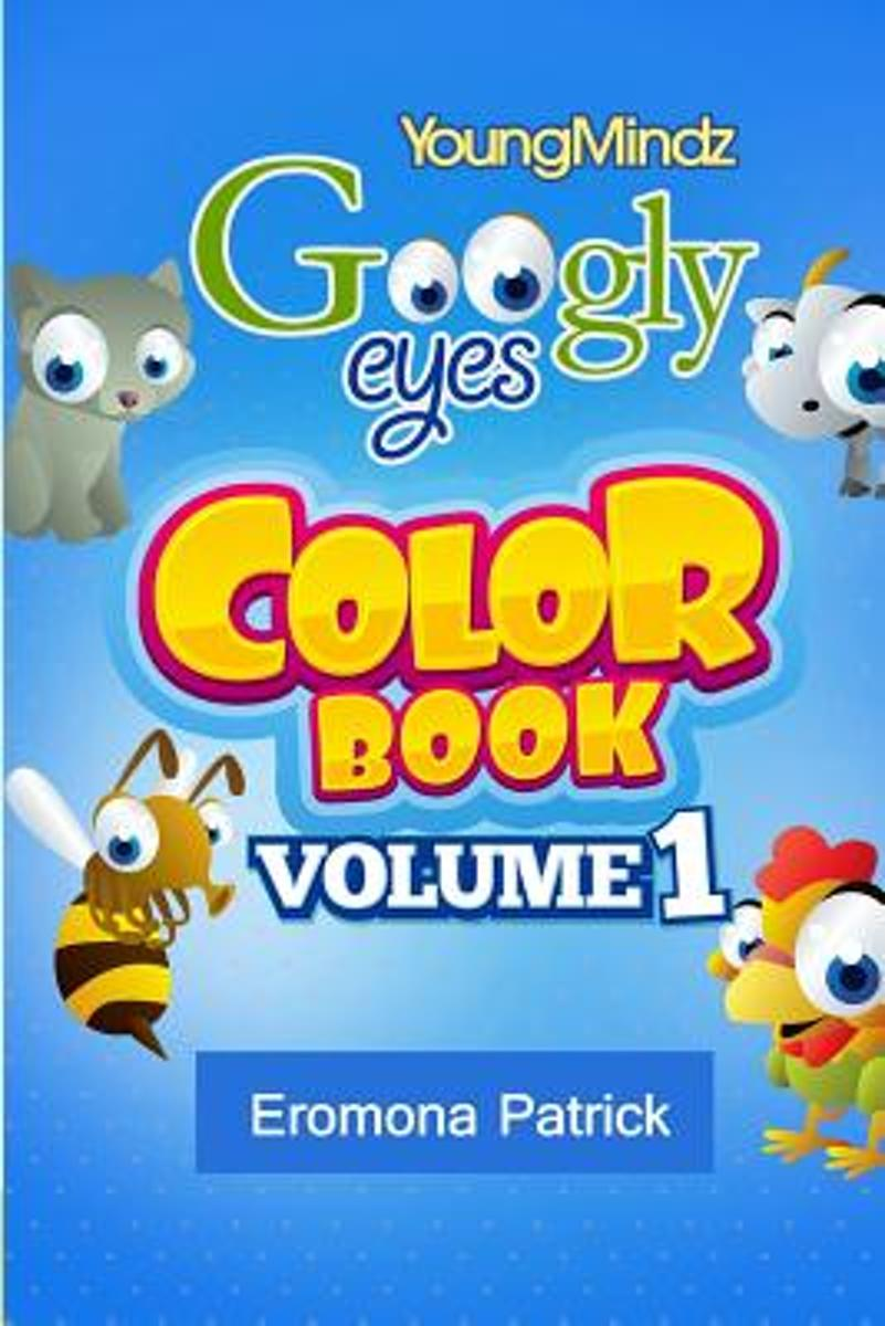 Youngmindz Googly Eyes Color Book