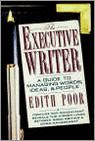 Executive Writer: A Guide To Managing W