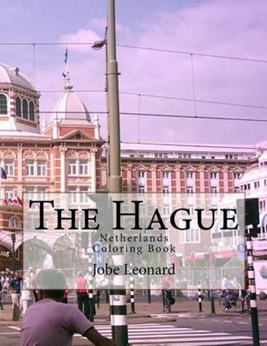 The Hague, Netherlands Coloring Book