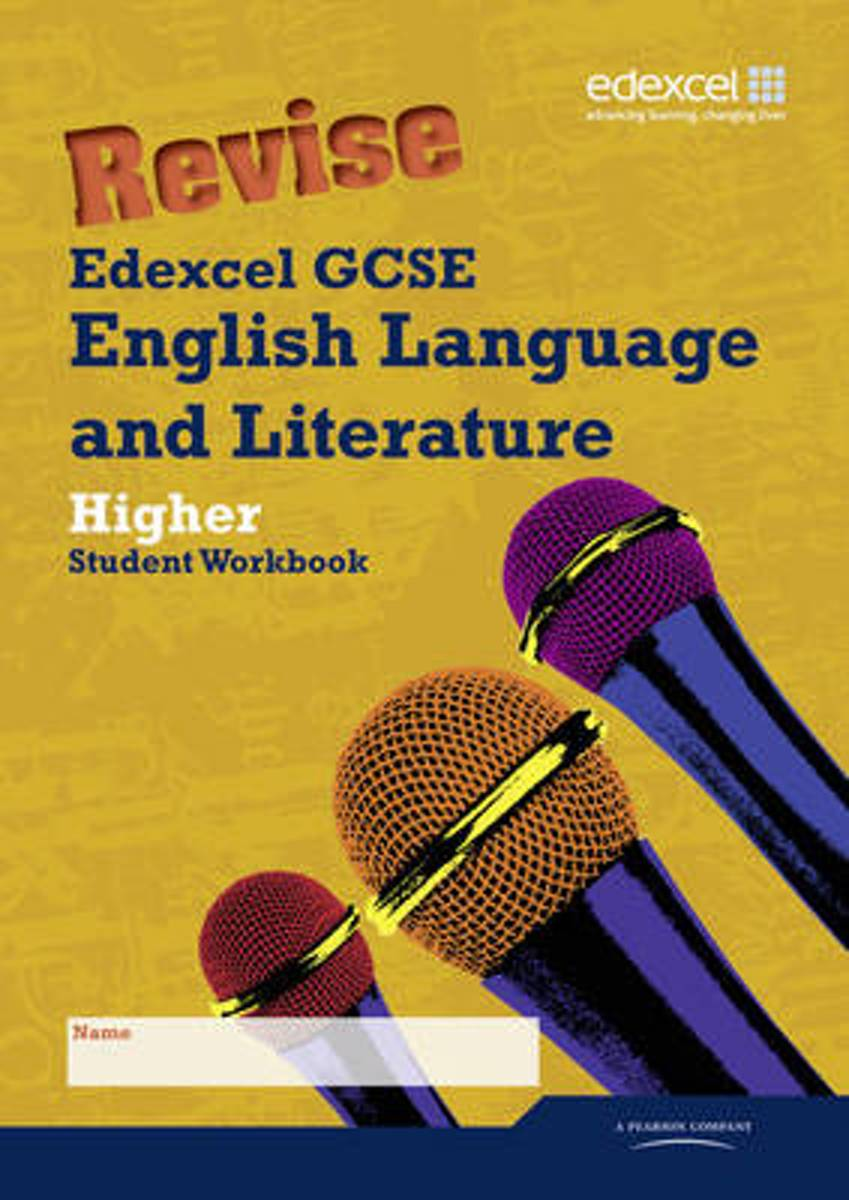 Revise Edexcel GCSE English Language and Literature Higher Tier Workbook Pack of 10