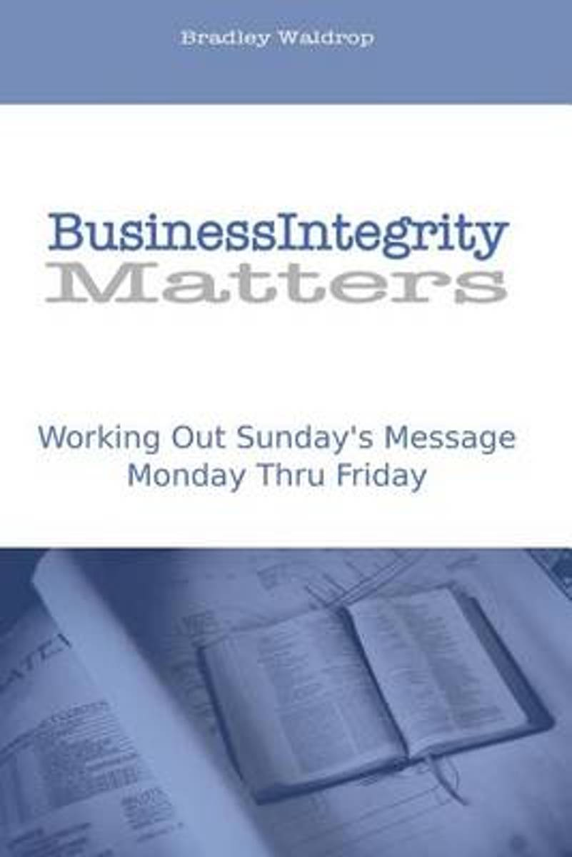 Business Integrity Matters