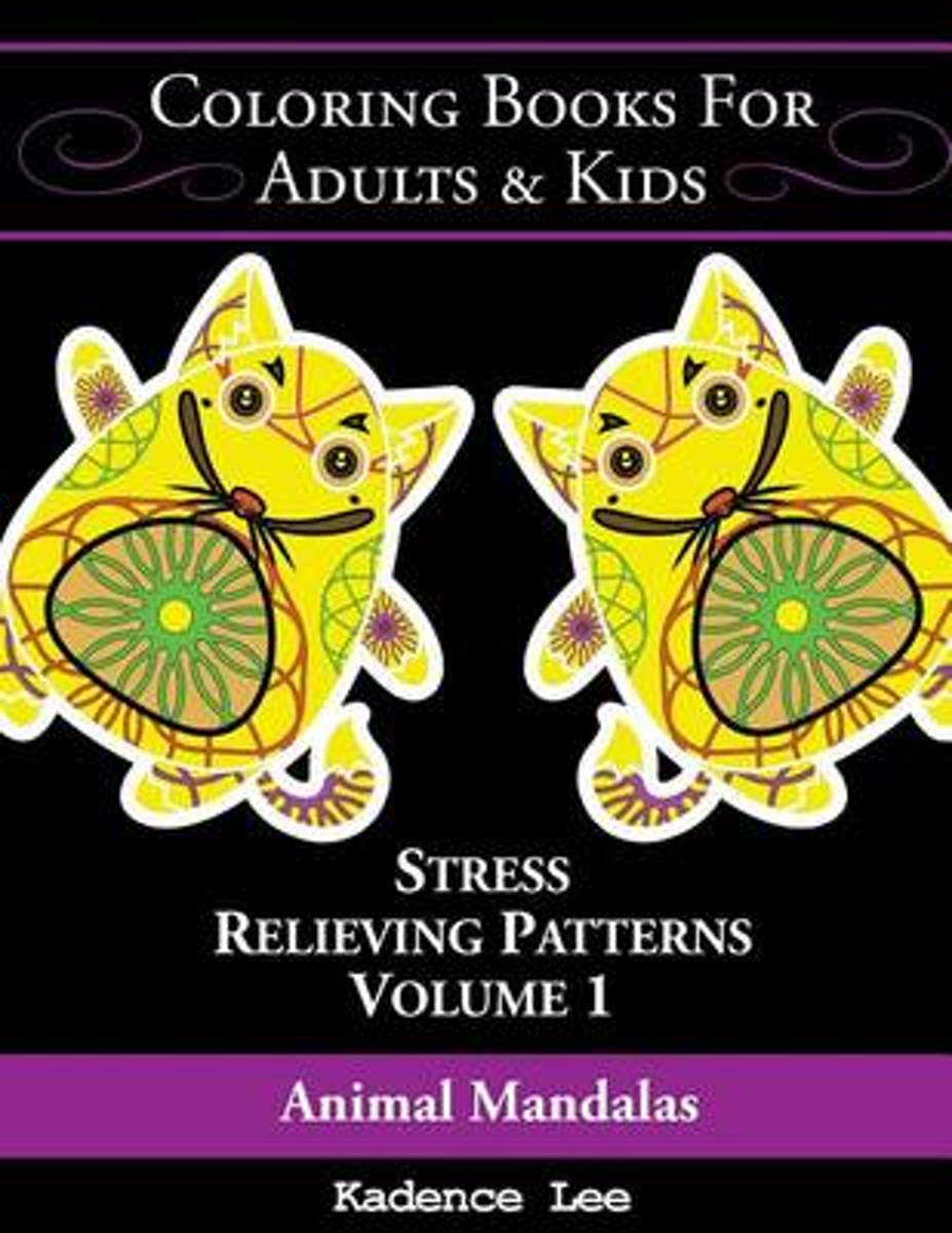Coloring Books for Adults & Kids, Volume 1