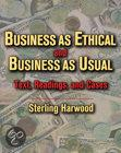 Business As Ethical And Business As Usual