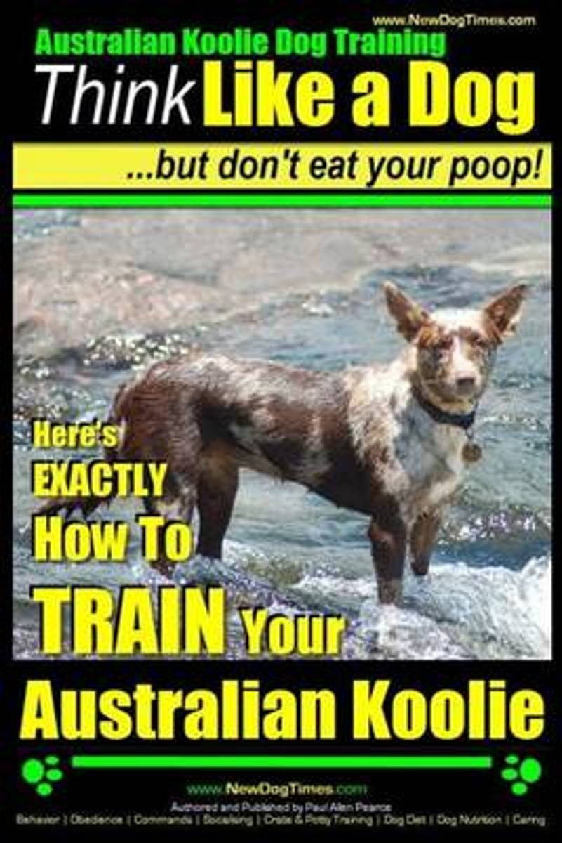 Australian Koolie Dog Training - Think Like a Dog, But Don?t Eat Your Poop! -