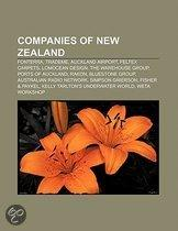 Companies Of New Zealand: Trademe, Fonterra, Auckland Airport, Feltex Carpets, The Radio Network, The Warehouse Group, Ports Of Auckland