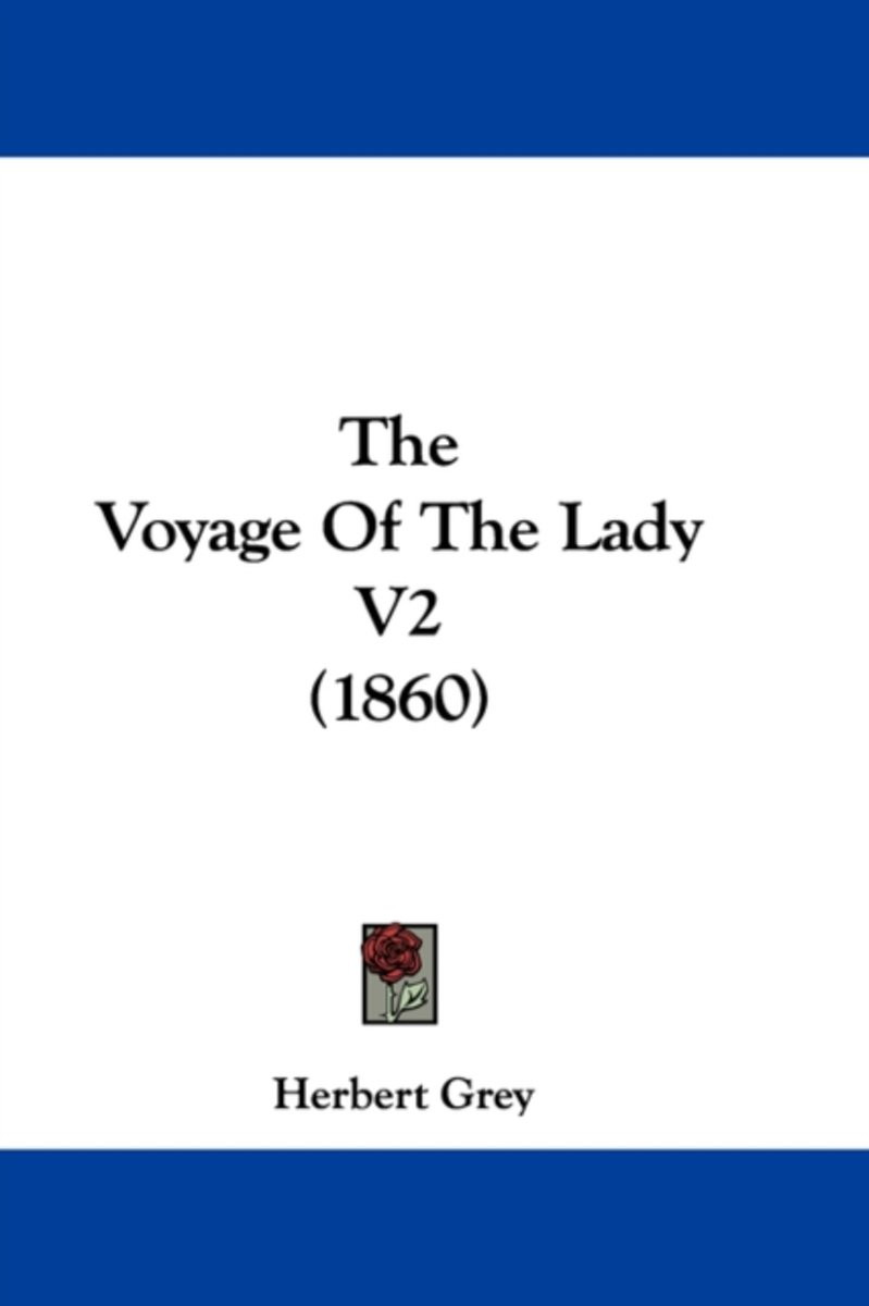 The Voyage of the Lady V2 (1860)
