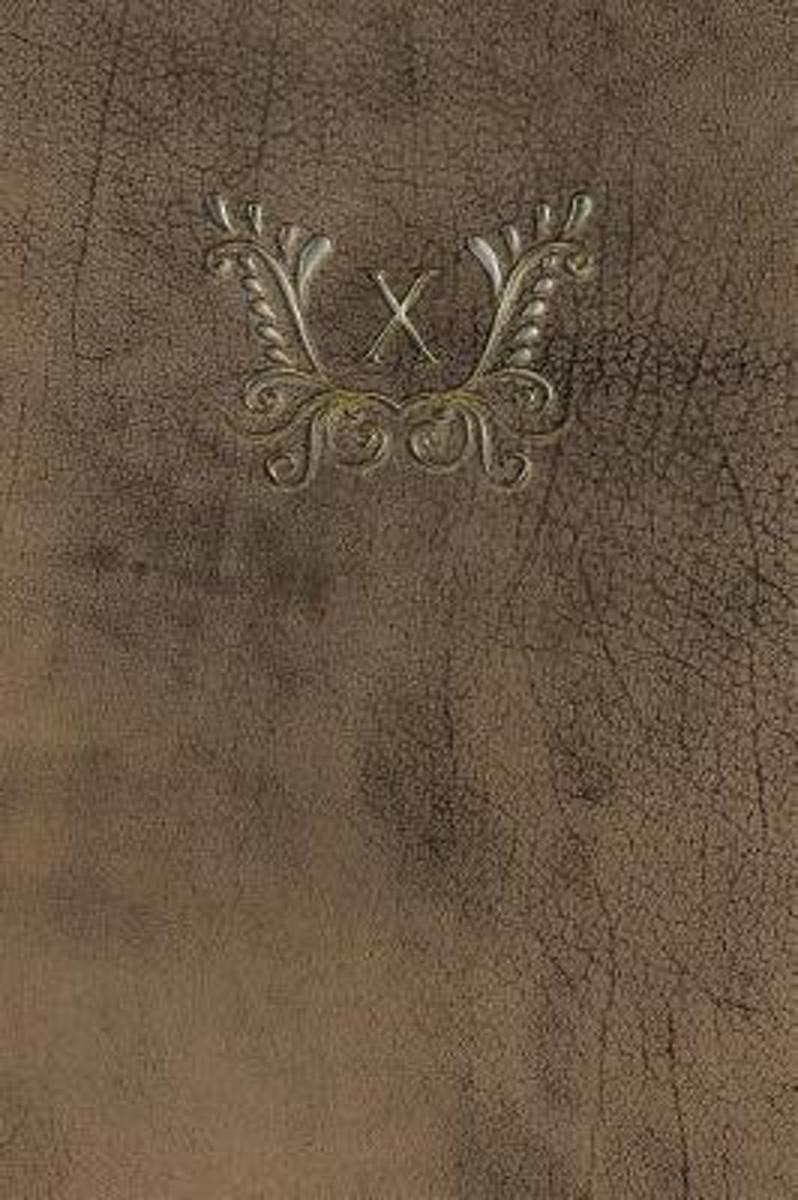 Monogram X Any Day Planner Notebook