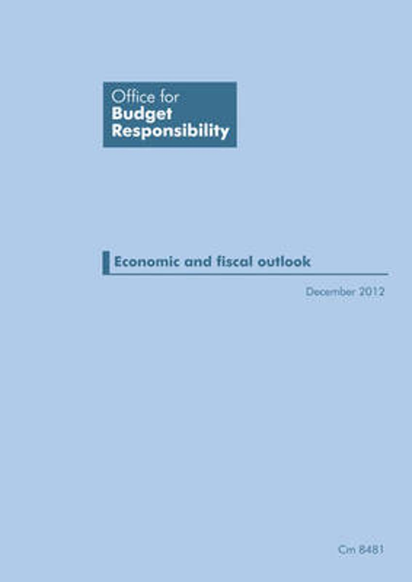 Economic and fiscal outlook December 2012