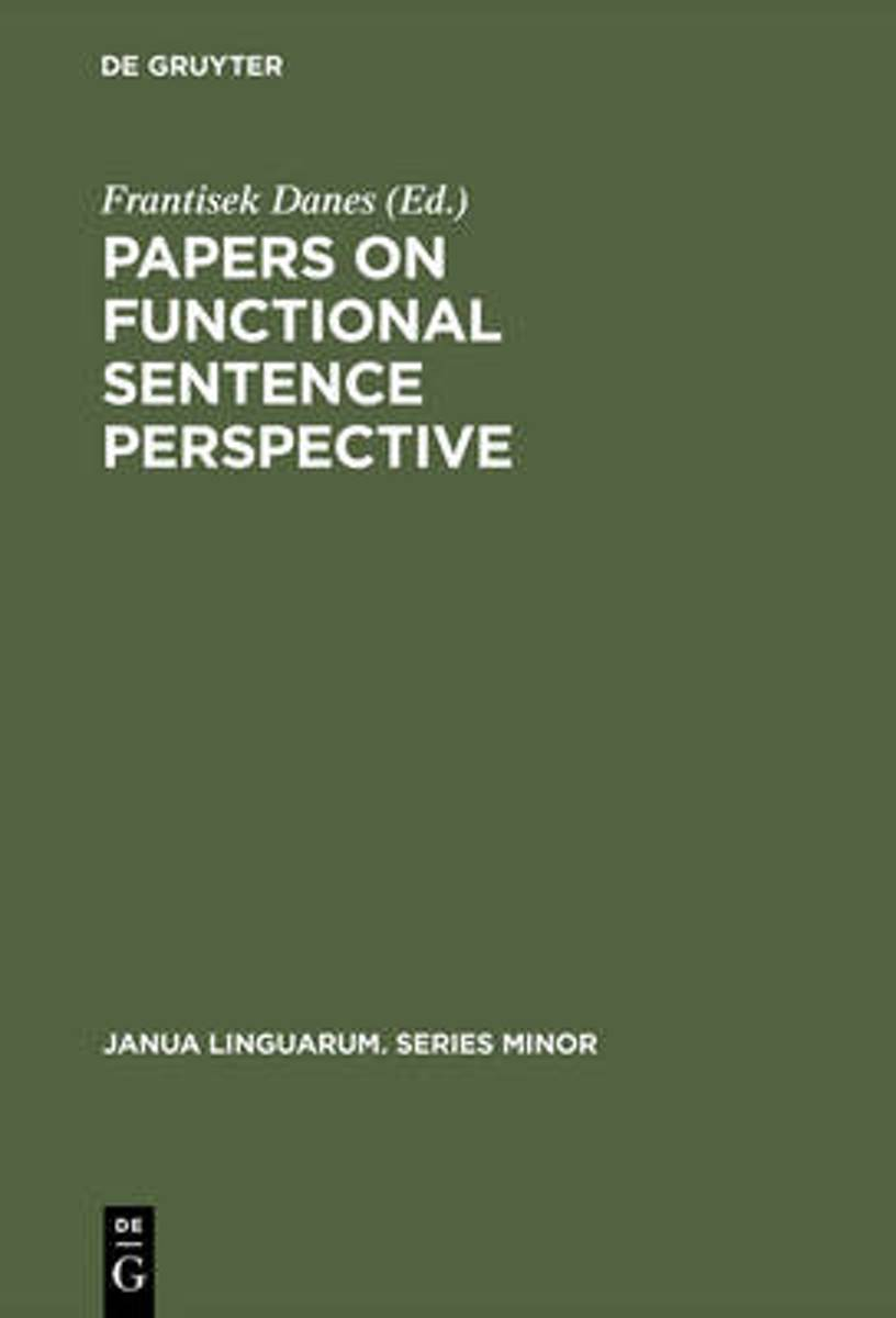 Papers on Functional Sentence Perspective