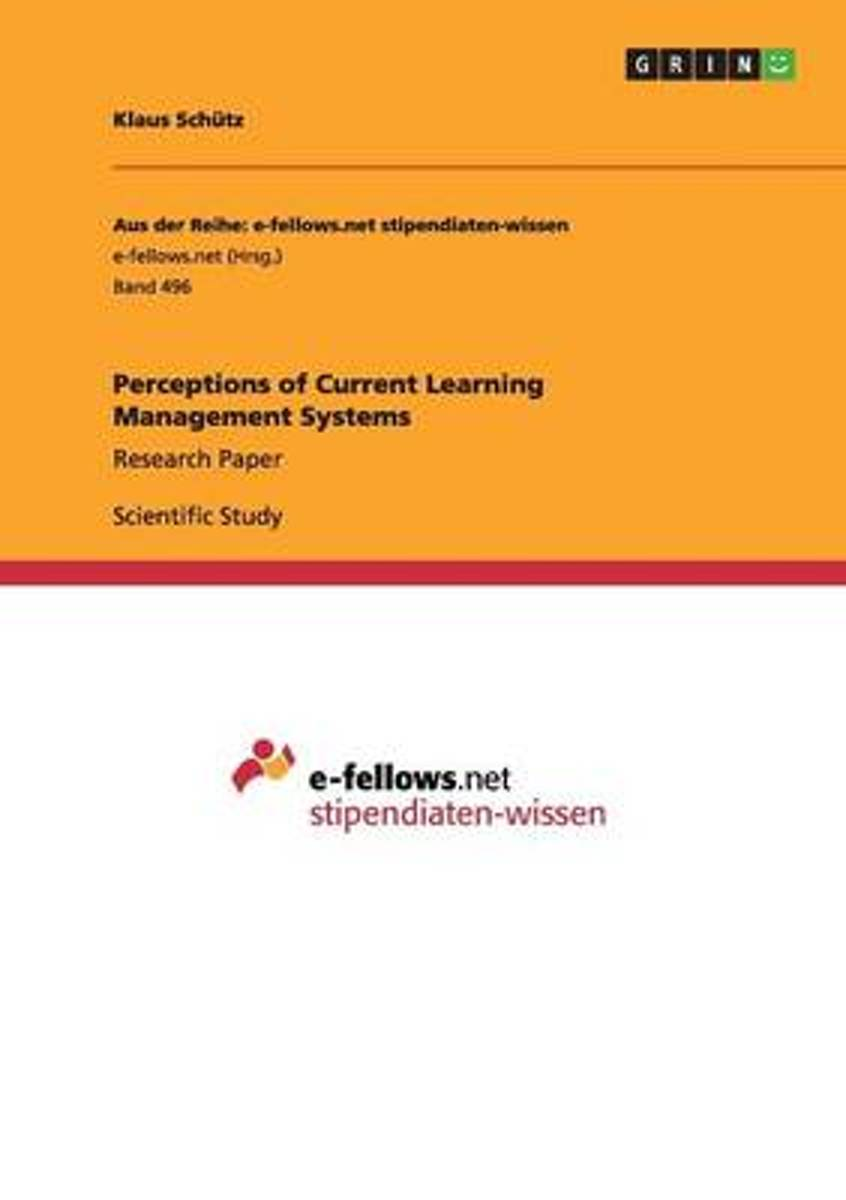 Perceptions of Current Learning Management Systems
