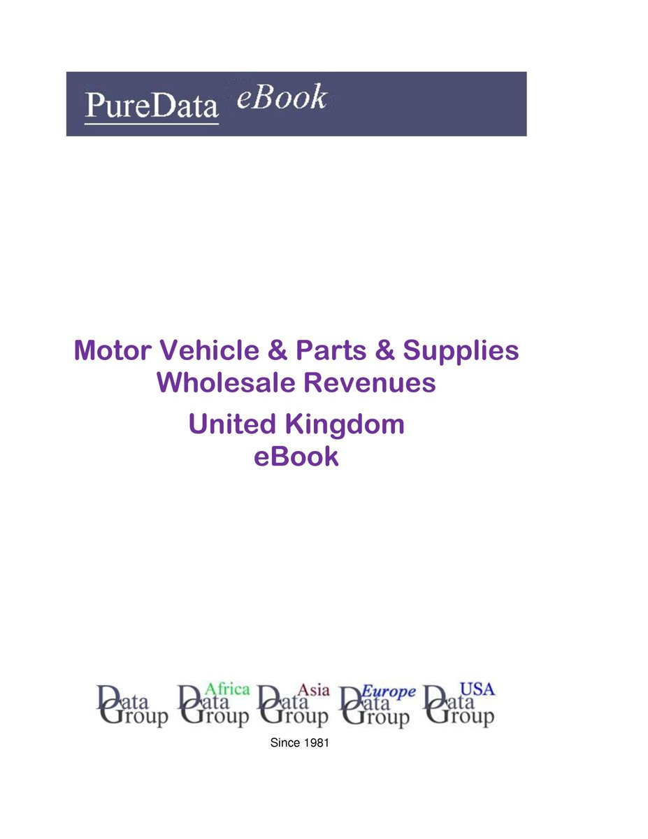 Motor Vehicle & Parts & Supplies Wholesale Revenues in the United Kingdom