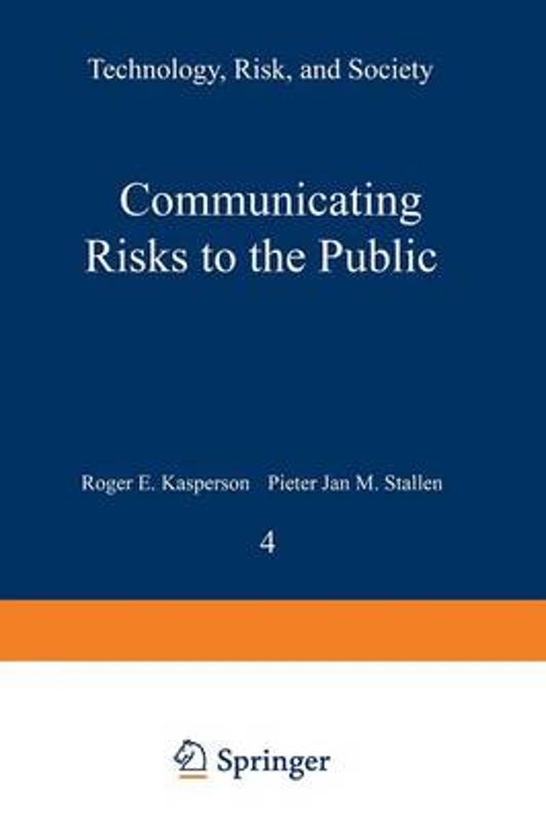 Communicating Risks to the Public