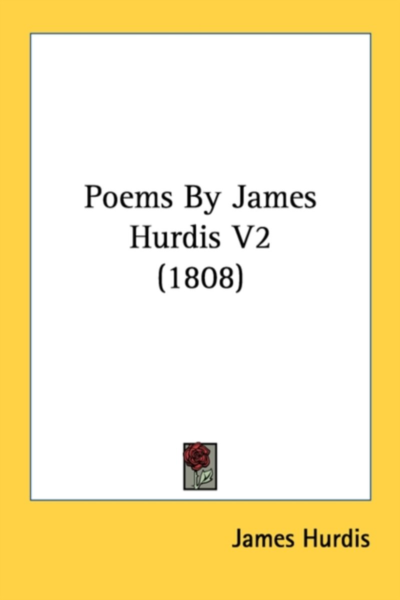 Poems by James Hurdis V2 (1808)