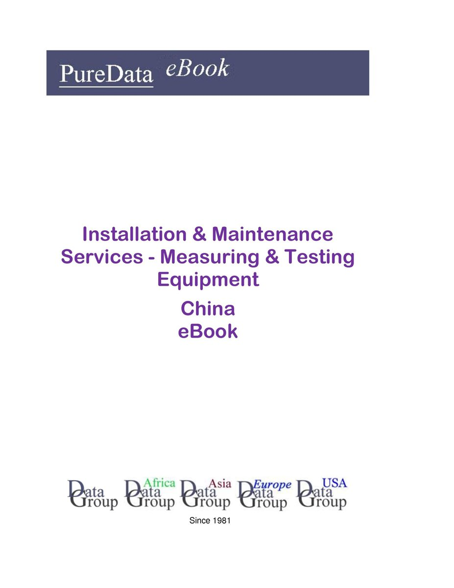 Installation & Maintenance Services - Measuring & Testing Equipment in China