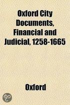 Oxford City Documents, Financial and Judicial, 1258-1665