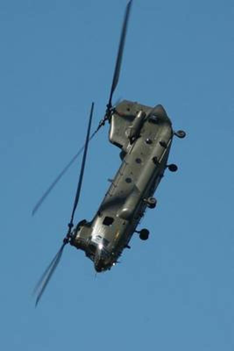 The Chinook Helicopter Journal