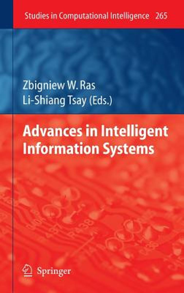 Advances in Intelligent Information Systems