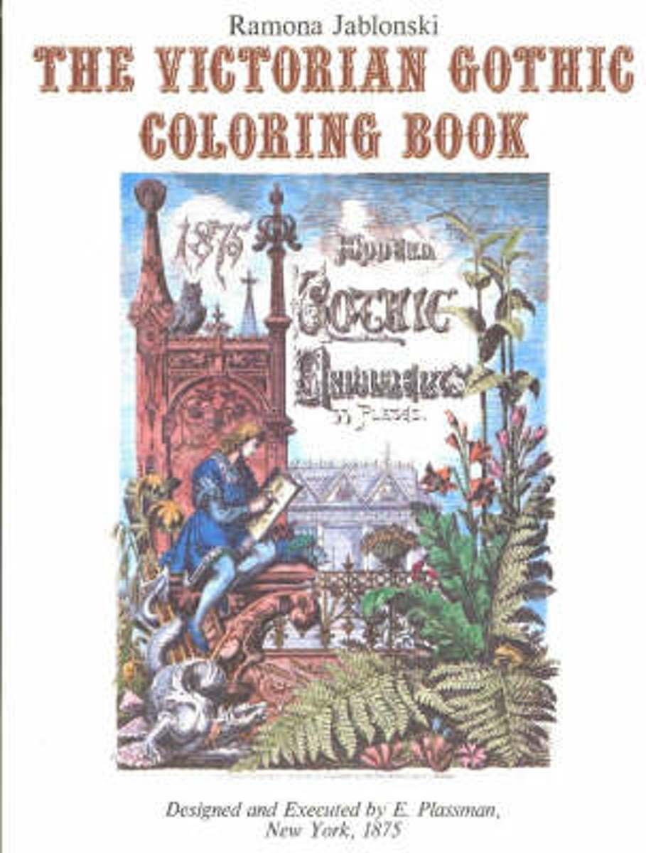 Victorian Gothic Coloring Book