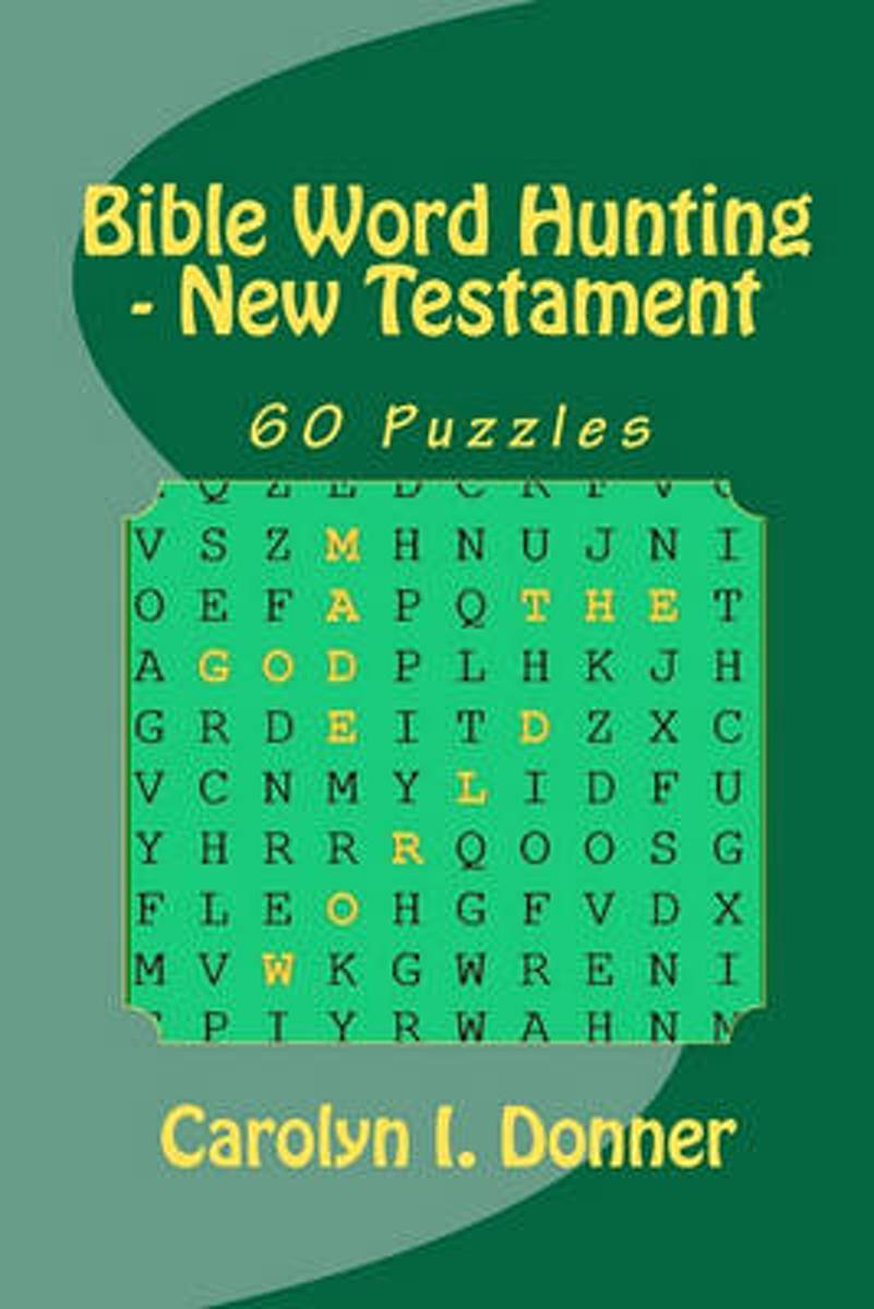 Bible Word Hunting - New Testament
