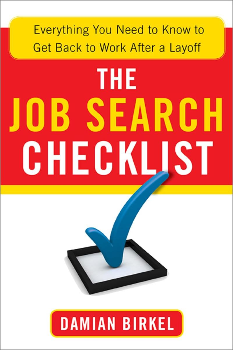 The Job Search Checklist