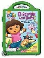 Discover with Dora Books & Magnetic Playset