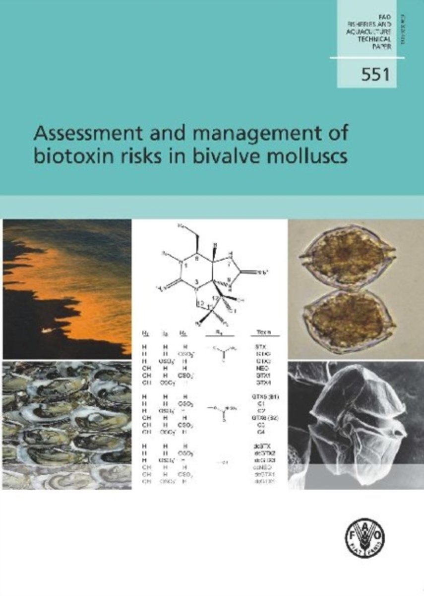 Assessment and management of biotoxin risks in bivalve molluscs