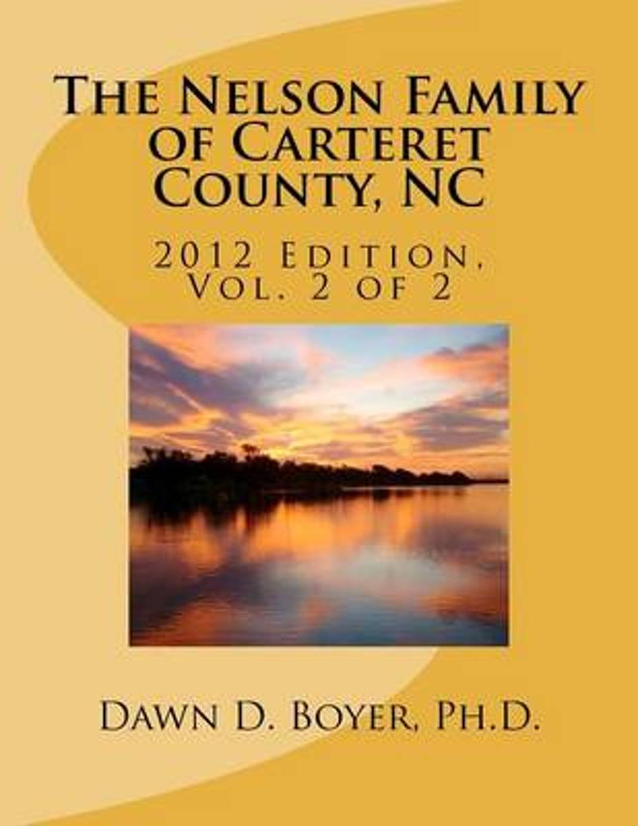 The Nelson Family of Carteret County, NC