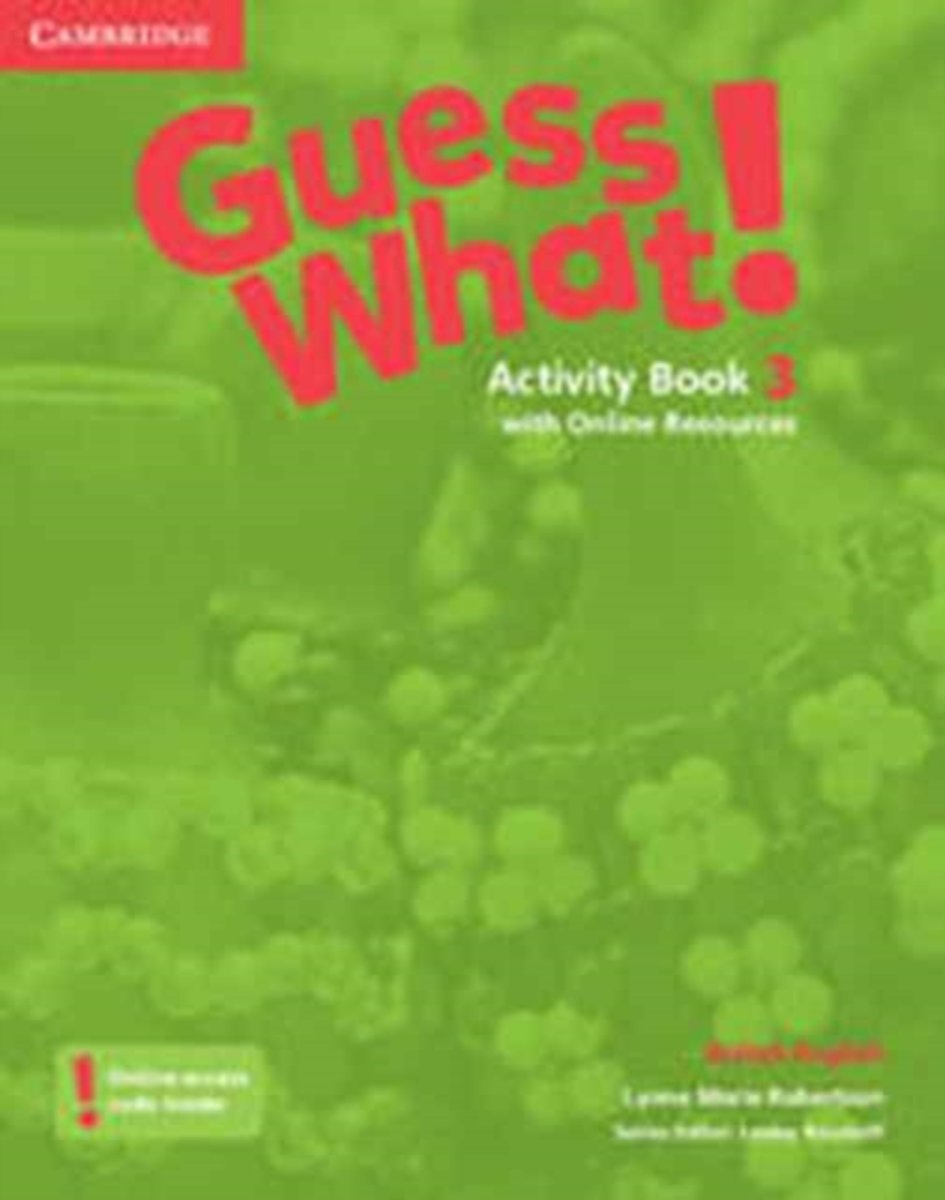 Guess What! Level 3 Activity Book with Online Resources British English
