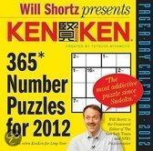 Will Shortz Presents Kenken Page-A-Day Calendar