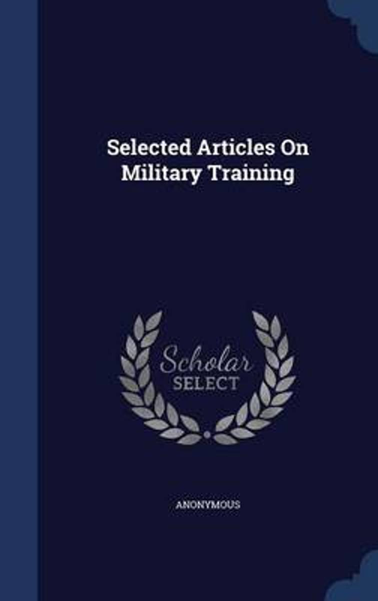 Selected Articles on Military Training