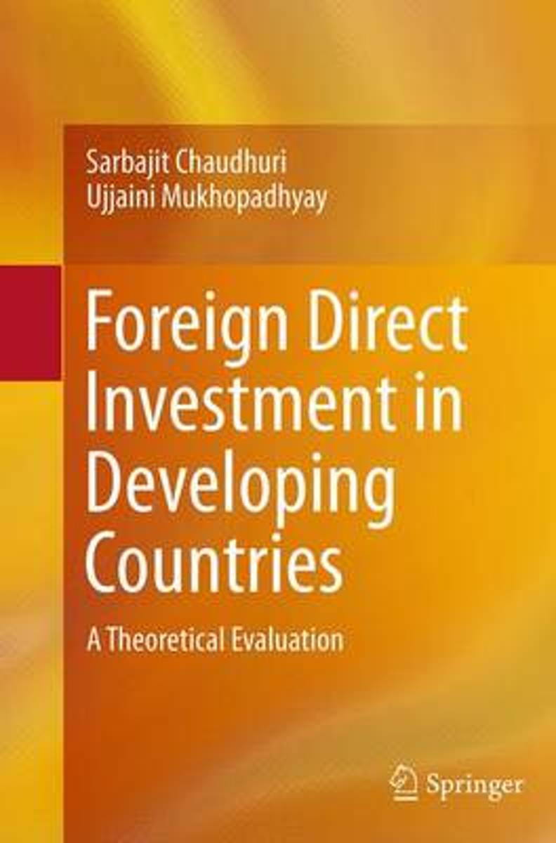Foreign Direct Investment in Developing Countries