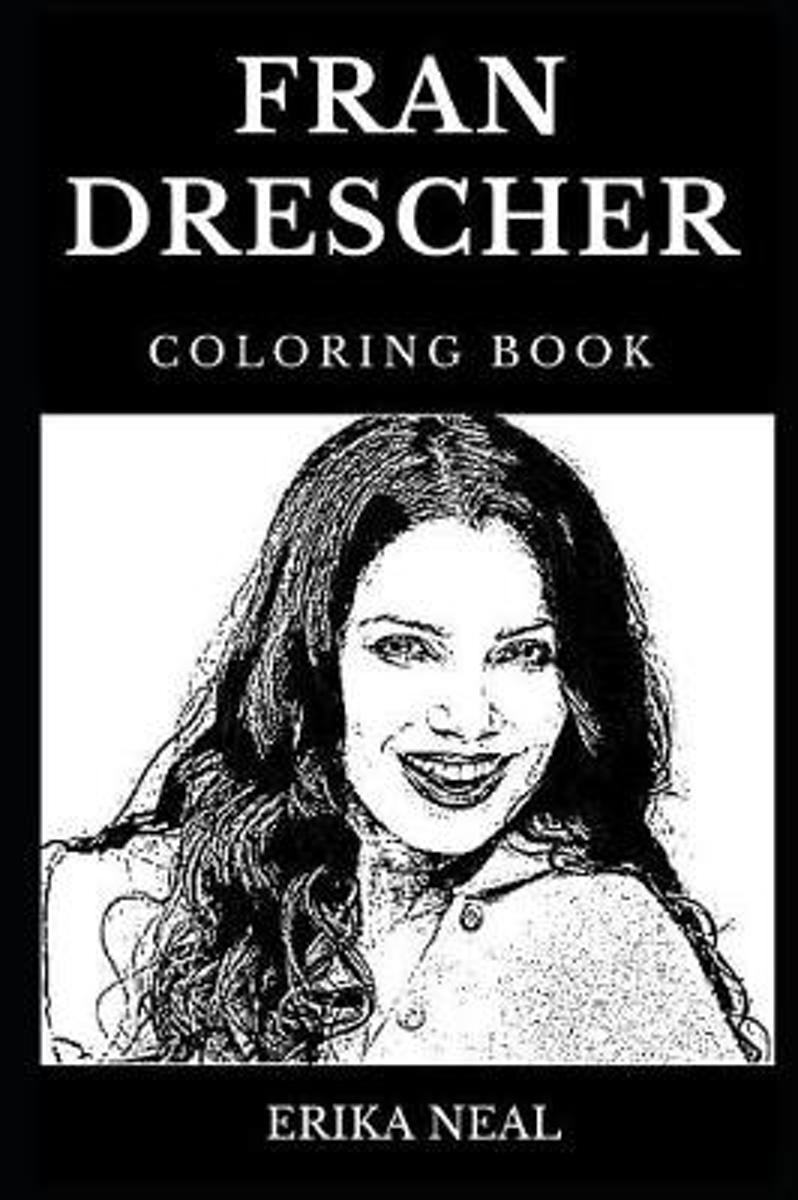 Fran Drescher Coloring Book