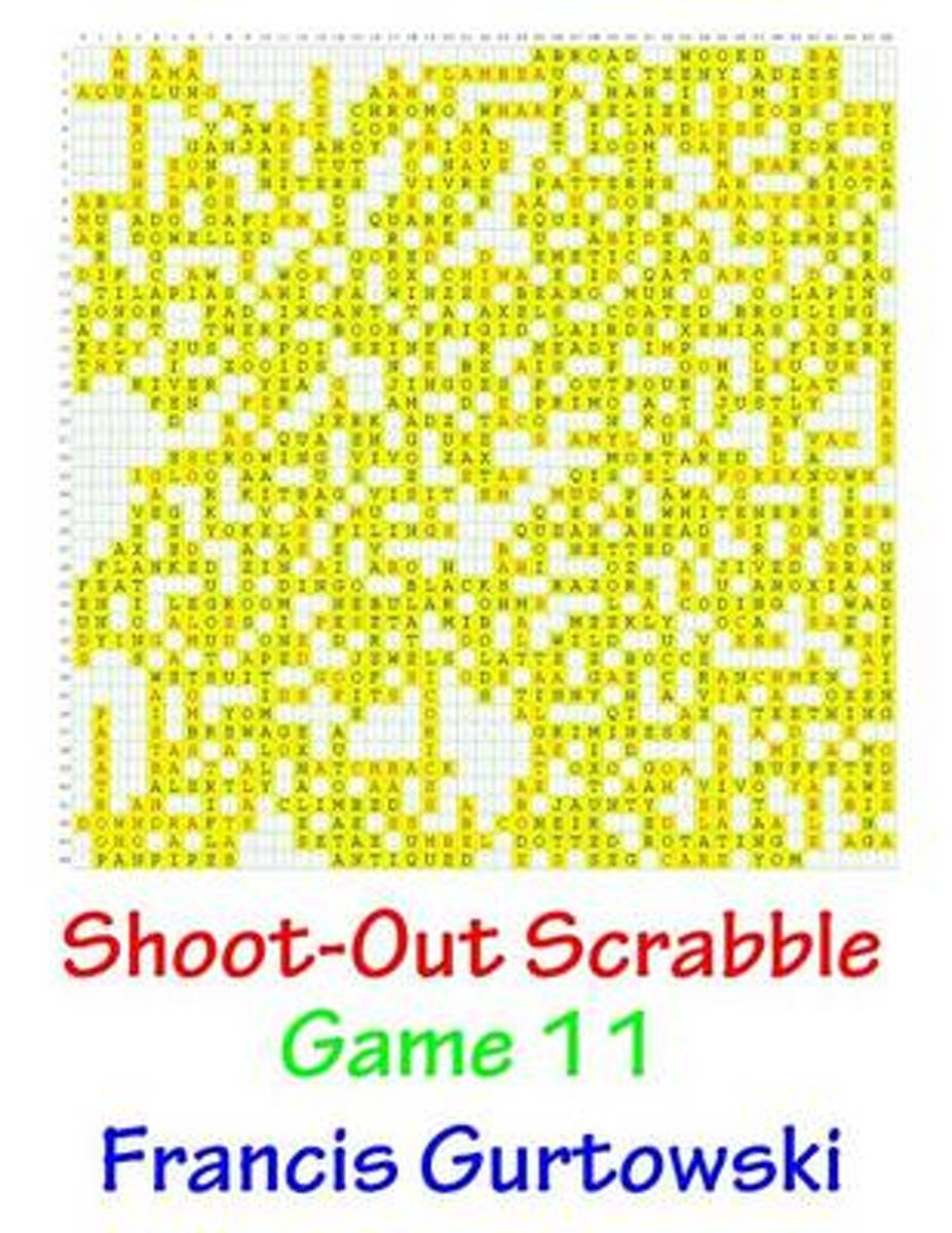 Shoot-Out Scrabble Game 11