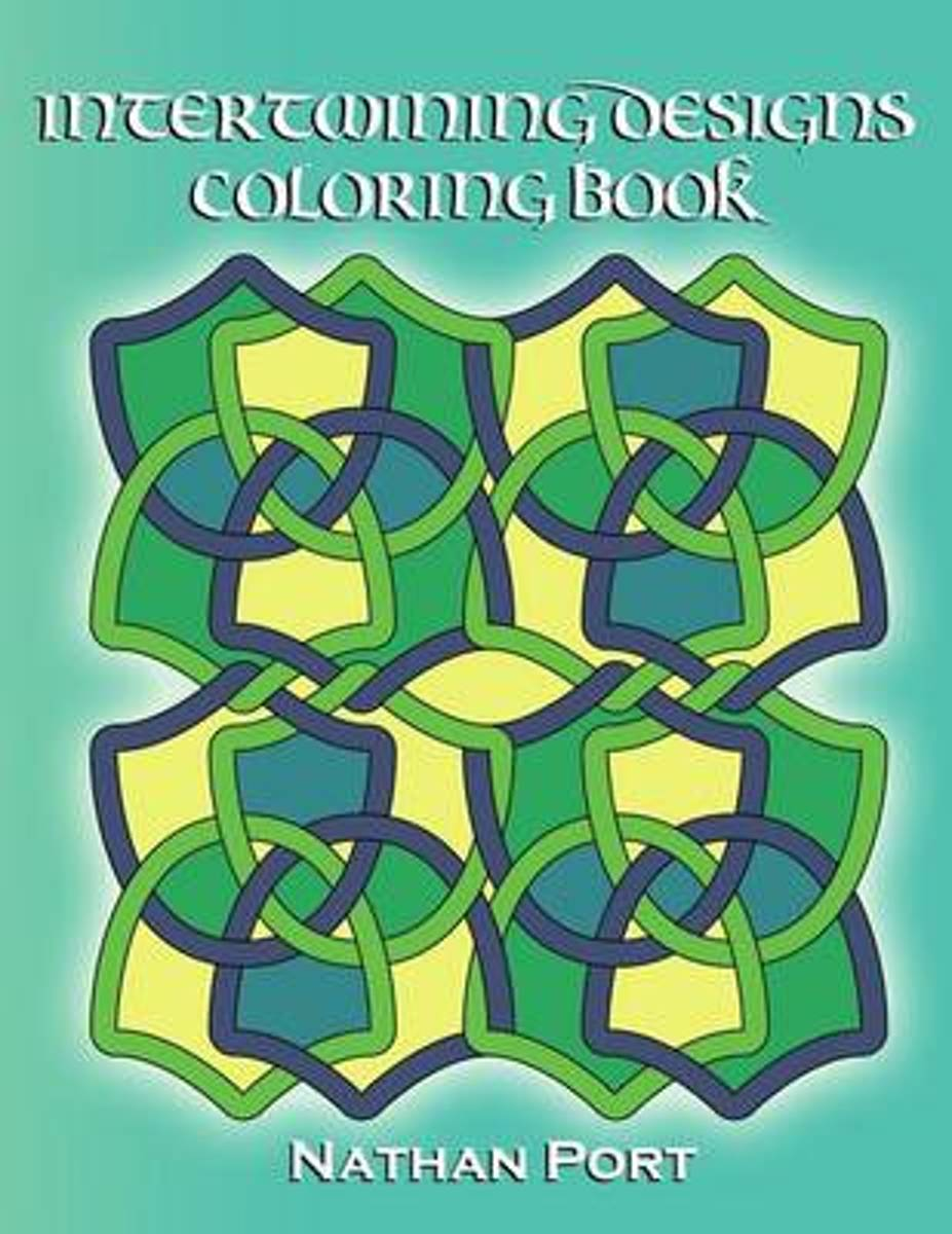 Intertwining Designs Coloring Book